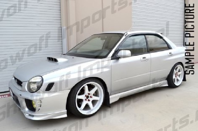 Subaru Impreza 4D GC8 92-00 Window Side Visors L+R