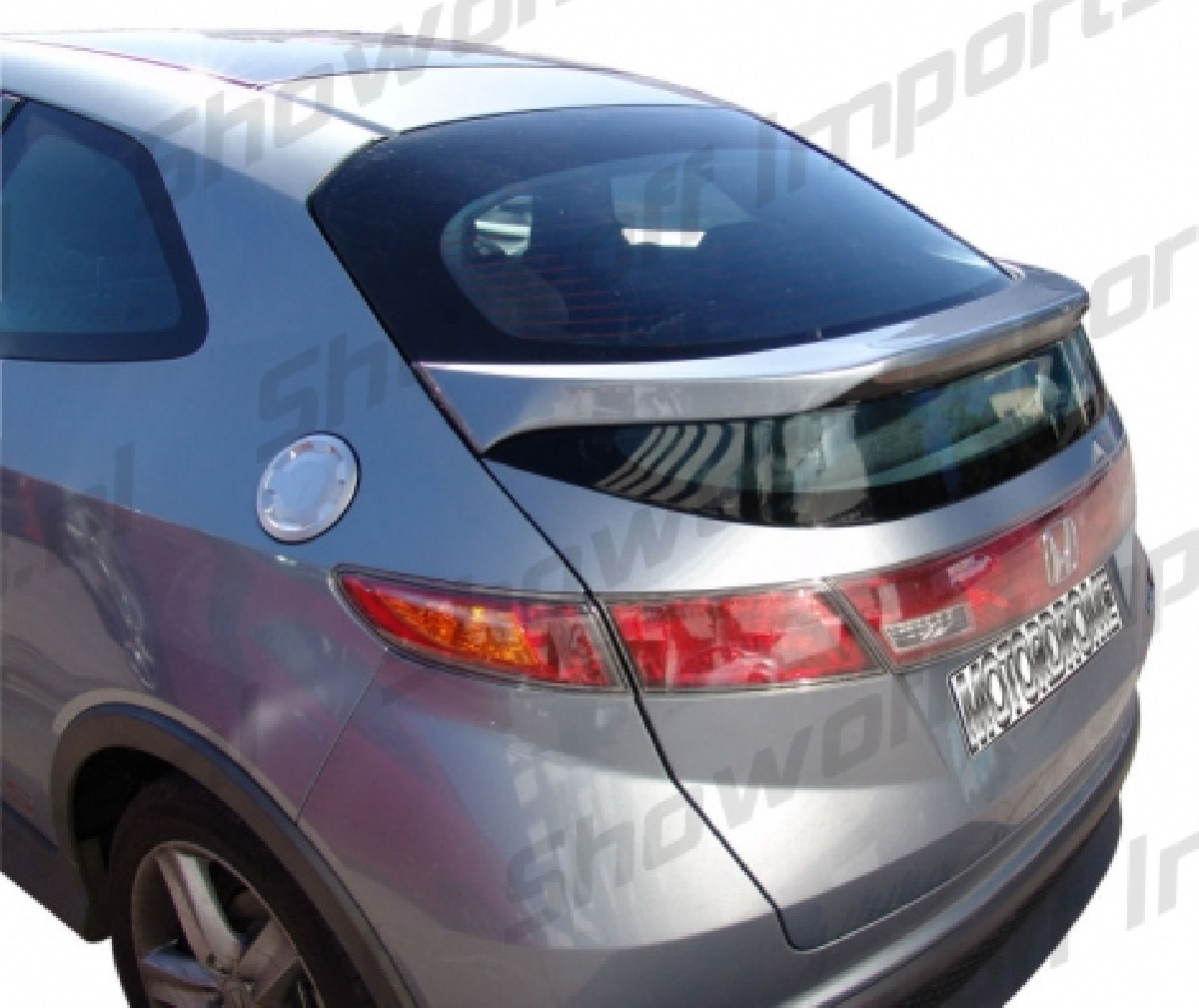 Honda Civic 06+ 3/5D  Rear Spoiler