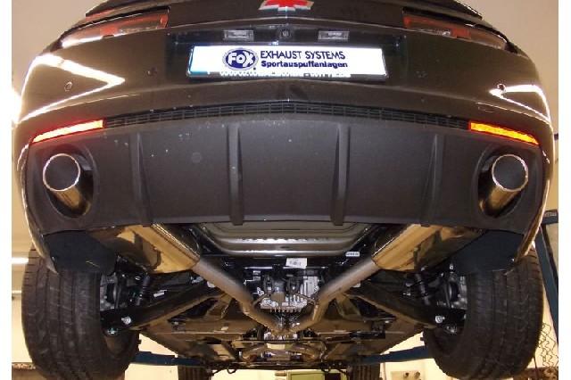 FOX Chevrolet Camaro SS  Endschalldämpfer rechts/links - 1x100 Typ 16 rechts/links