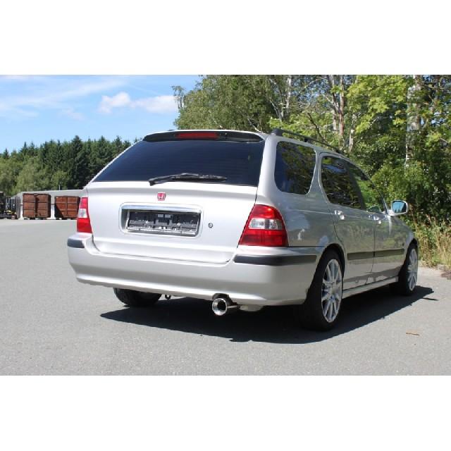 Honda Civic VI Aerodeck MC2 Endschalldämpfer - 1x90