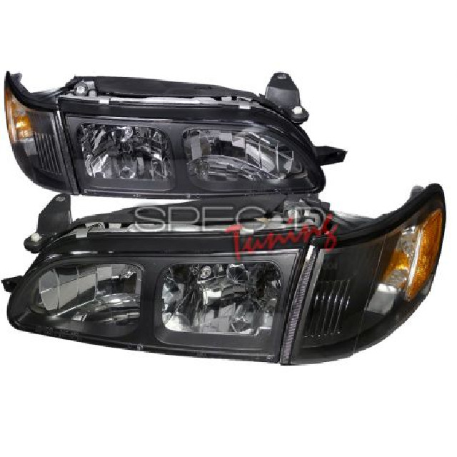Toyota Corolla 93-97 Euro Headlights + Corners