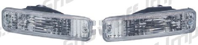 Honda Civic/CRX 88-89 Clear Front Bumper Lights
