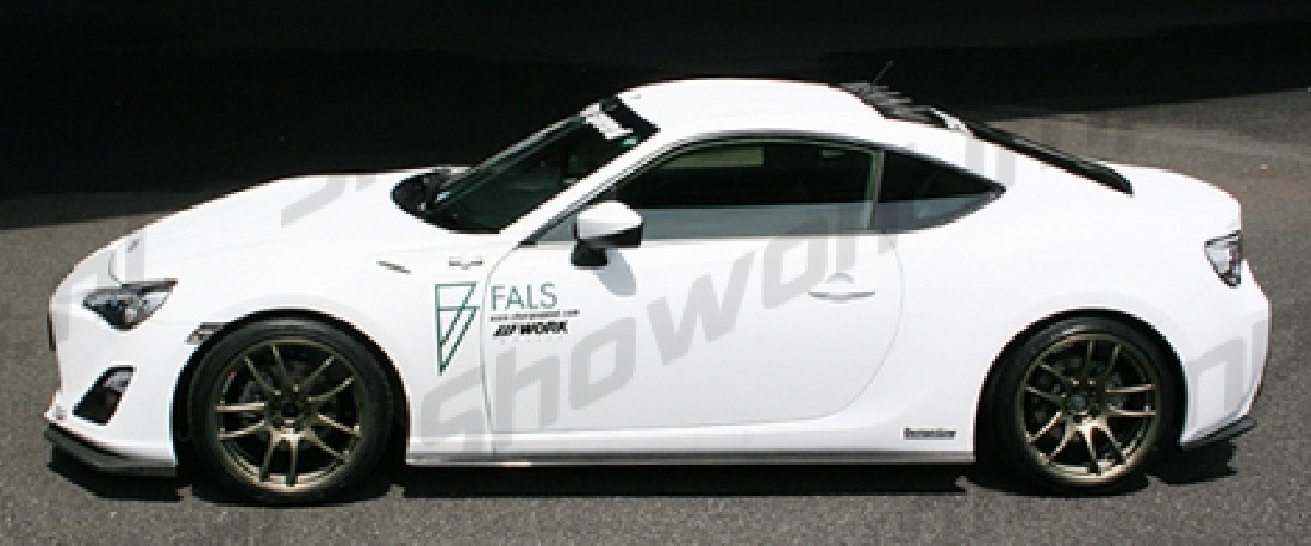 Toyota GT86 BottomLine 1 Side Skirts (FRP)
