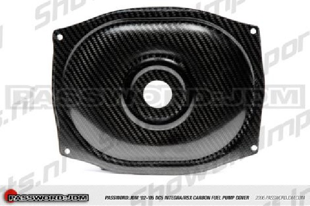 Civic/ITR EP3/DC5 Carbon Fuel Pump Cover PWJDM