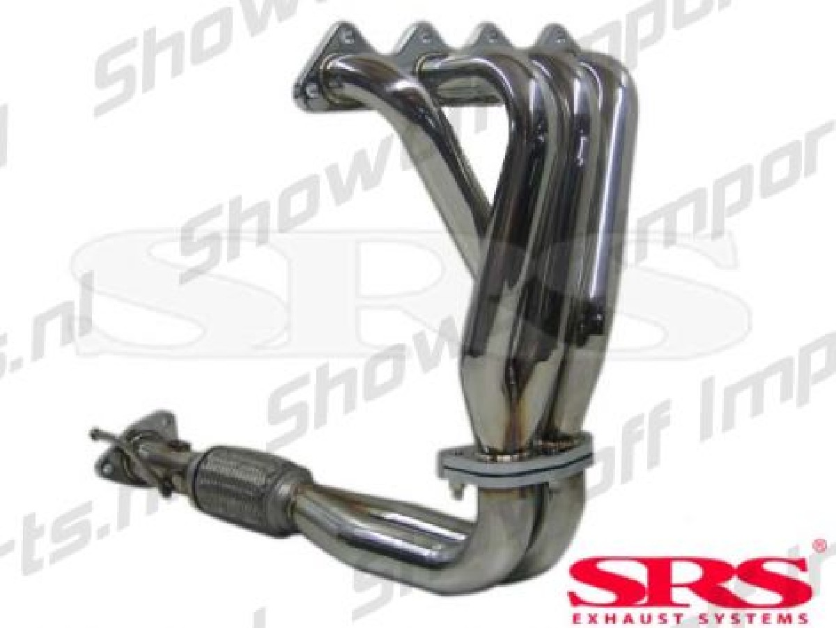 Honda Accord 98-03 2/4D SRS Stainless Steel 4-2-1 Header Fächerkrümmer