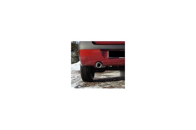 FOX Dacia Logan Limousine Benzin  Endschalldämpfer einseitig - 1x90 Typ 13