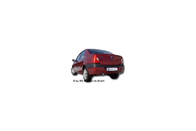 FOX Dacia Logan Limousine Benzin  Endschalldämpfer rechts/links - 1x90 Typ 13 rechts/links
