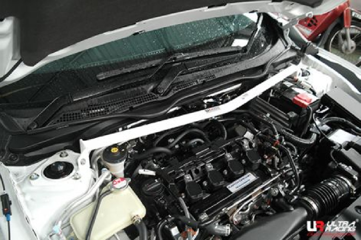 Honda Civic 15-19 FK/FC 1.5T/1.8 UltraR Front Upper Strutbar