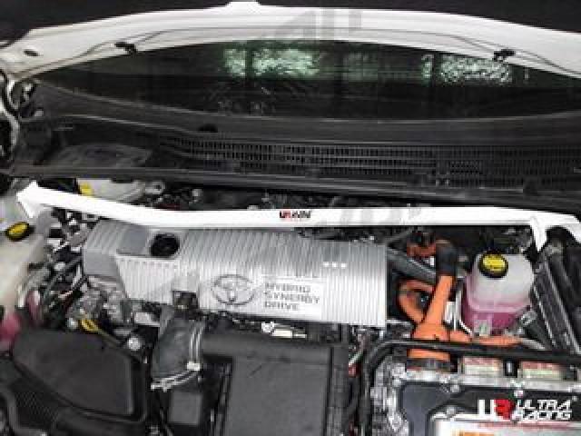 Toyota Prius XW30 10+ UltraRacing Front Upper Strutbar RHD