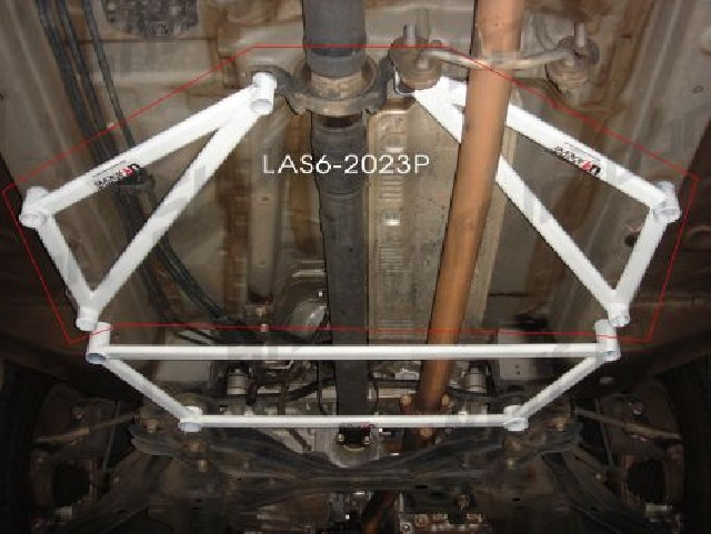 Honda CRV 12+ 4WD Ultraracing 2x3P Side Lower Bars 2023P