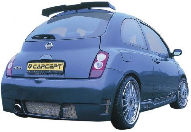 Nissan Micra 03+ Roof Spoiler [Carcept]