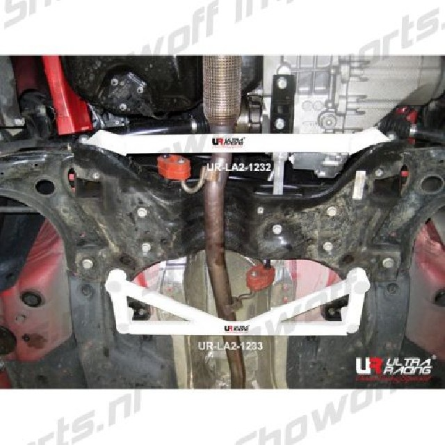 Skoda Rapid 12+ Ultra-R 4-Point Front Lower Brace