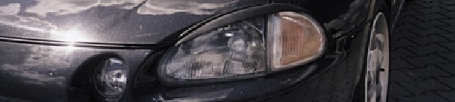 Honda Delsol 92-97 Fiberglass Eyebrows [Carcept]