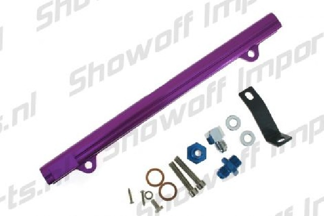 Mitsubishi Eclipse/EVO 4G63 Fuel Rail Purple