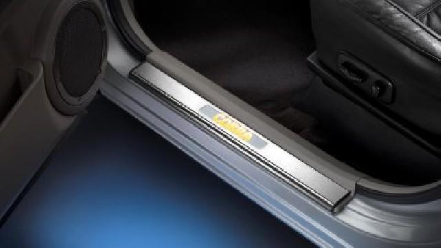 Einstiegsleiste mit LED-Beleuchtung, 5-türer für Nissan Micra K12 + K13