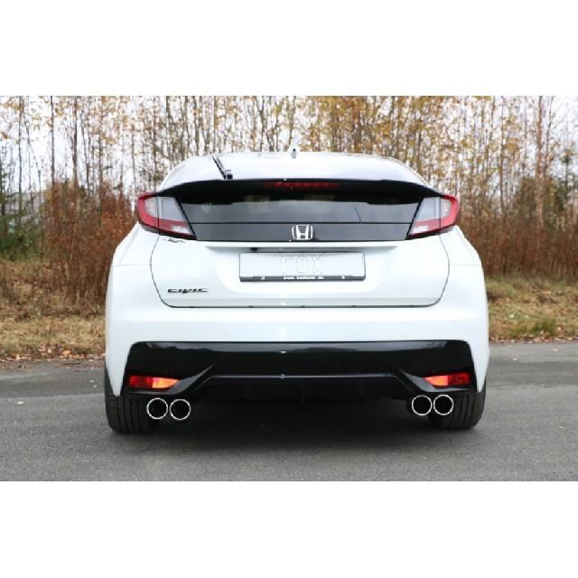 Honda Civic IX Hatchback Endschalldämpfer quer Ausgang rechts/links