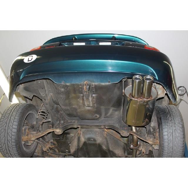 Honda CRX III Endschalldämpfer - 2x76