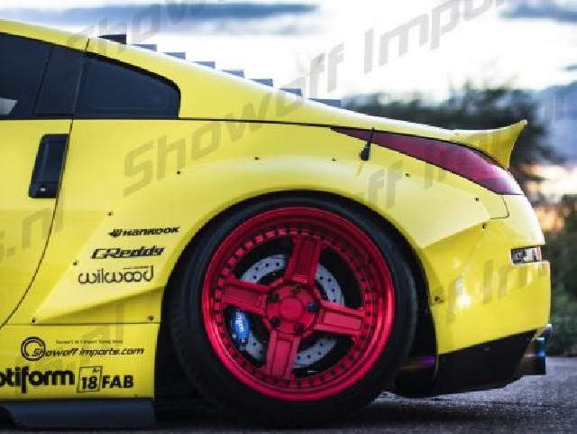 Nissan 350Z Ducktail Rocket Bunny Style Spoiler FRP [SIX]