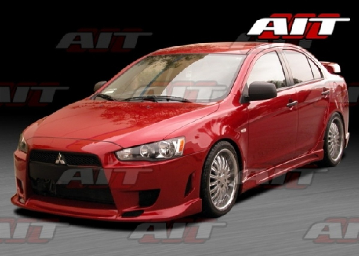 Mitsubishi Lancer 07-11 C-West-Weapon Front Bumper [AIT]