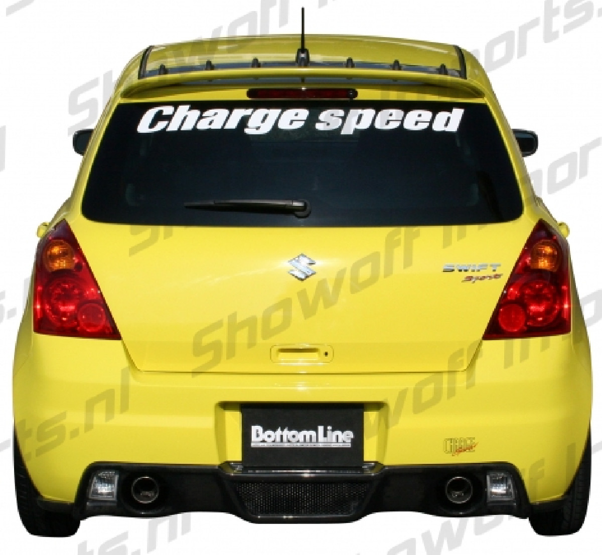 Suzuki Swift II Sport 05- Diffuser FRP