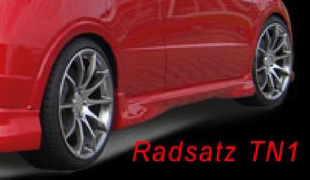 Radsatz TN1 Civic 8,5x19 ET40 5/114,3 mit 225/35R19 Falken VA/HA