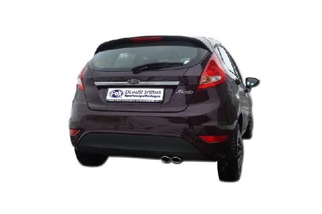 FOX Fiesta VI/ Fiesta VI Sport  Endschalldämpfer - 2x86x54 Typ 32