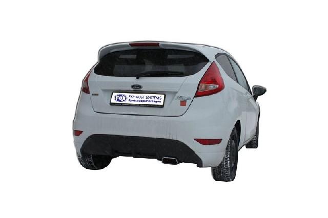 FOX Fiesta VI/ Fiesta VI Sport  Endschalldämpfer - 145x65 Typ 59