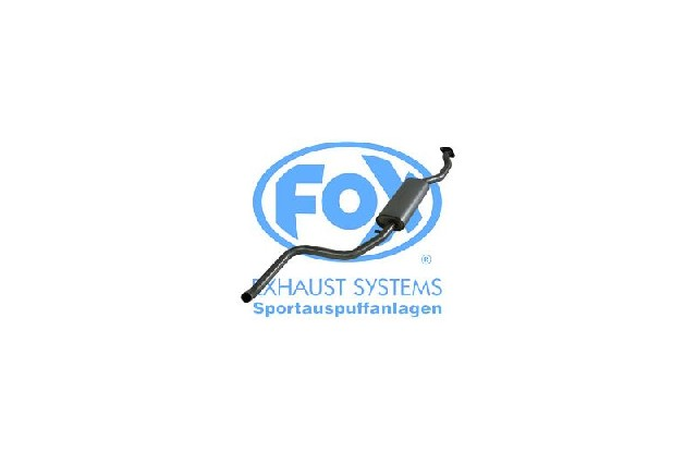 FOX Ford Escort GAL/ AAL/ ABL/ ALL  Vorschalldämpfer