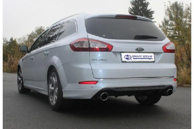 FOX Ford Mondeo IV Tunier (Kombi) - Titanium S  Endschalldämpfer rechts/links - 1x100 Typ 16 rechts/links