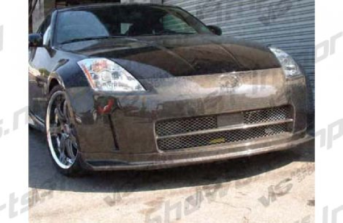 Nissan 350Z Aerosync Style Front Bumper PU