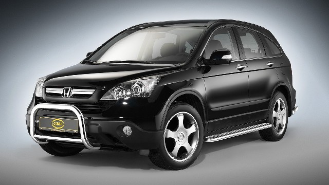Frontbügel Edelstahl chrom  60 mm für Honda CR-V 06-13