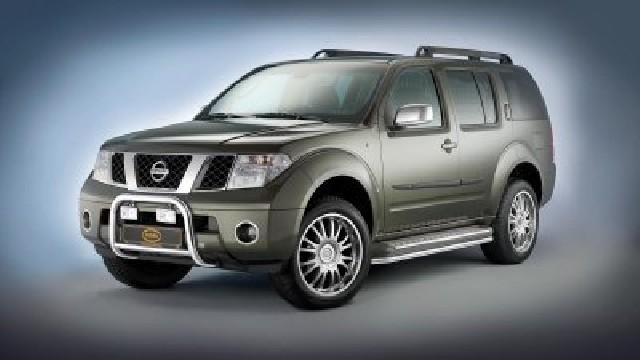 Frontbügel Edelstahl chrom 60 mm für Nissan Pathfinder  2010-