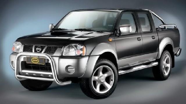 Frontbügel Edelstahl chrom  60 mm für Nissan Pick Up D22 NP300