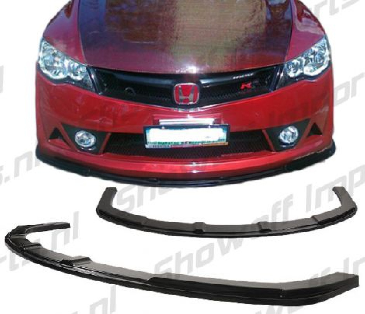 Honda Civic 4D/Hybrid 05+ Mugen RR ABS Front LIP
