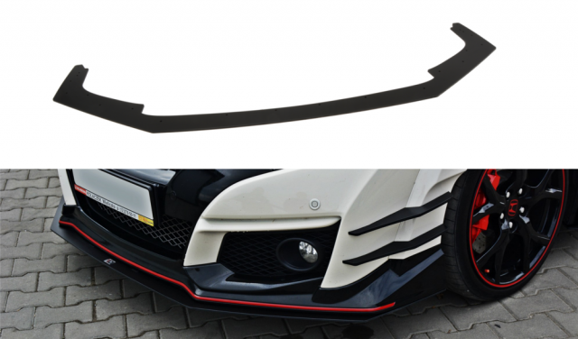 FRONT RACING SPLITTER V.1 HONDA CIVIC IX TYPE R