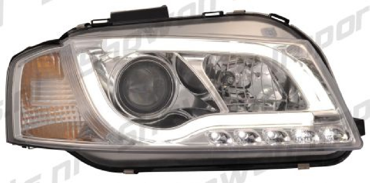 Audi A3 8P 03-08 Headlights Set Clear