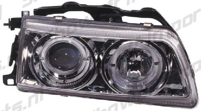 Honda Civic / CRX 90-91 Headlights Set Clear -