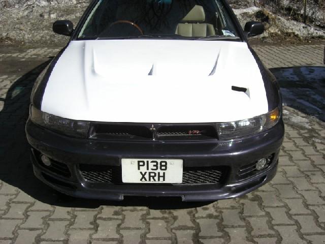 Mitsubishi Galant 96-03 EVO Style Fiberglass Hood
