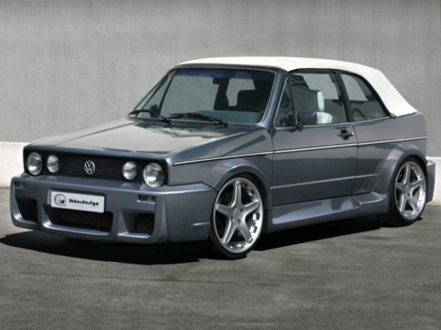 VW Golf 1 Cabrio (79-93) Breitbau Bodykit RETROBUTION WIDE