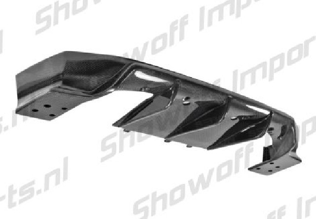 Toyota Prius 10-11 Seibon MB Carbon Rear Lip