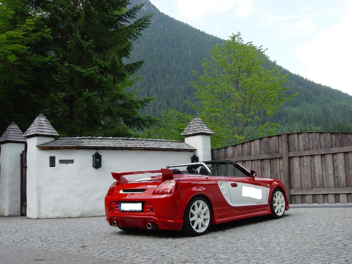 Heckschürze Toyota MR-2 W3 Roadster