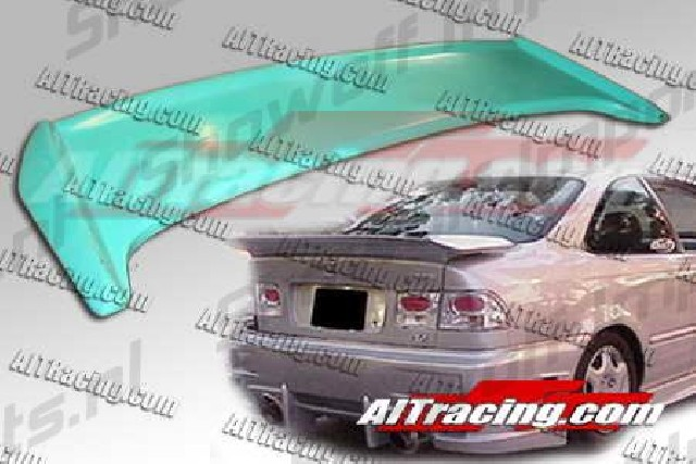 Honda Civic 92-95 2/4D MGN Rear Wing