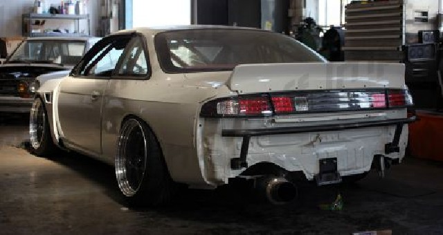 Nissan S14 Ducktail Rocket Bunny Style Spoiler