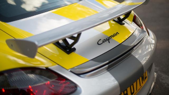 Porsche Cayman 987, 981 Heckspoiler Baujahr 06-16