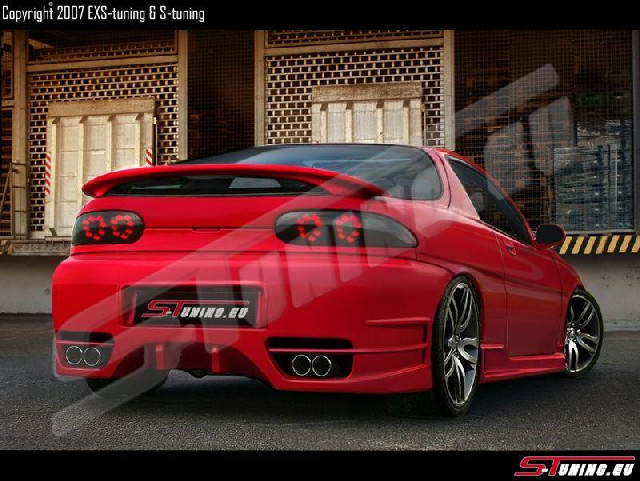 Heckstoßstange Mazda MX3