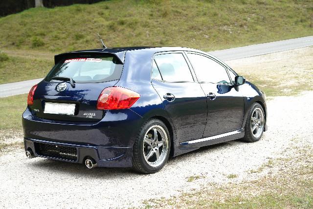 GT Sports Heckschürze Toyota Auris E15 (Vor-Facelift)