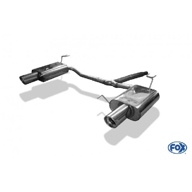 Honda Accord VIII CU2 Limousine & Tourer Endschalldämpfer rechts/links - 1x100  rechts/links