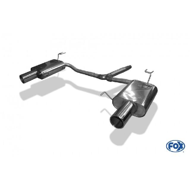 Honda Accord VIII CU1 Limousine & Tourer Endschalldämpfer rechts/links - 1x100  rechts/links