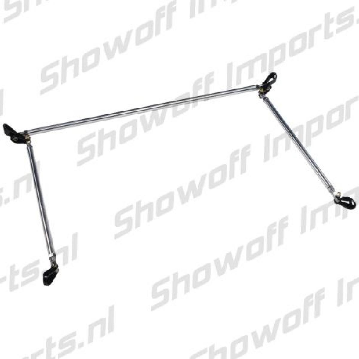 Honda Civic 92-95 3D B+C Pillar Bar Set 3-Piece