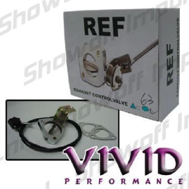Vivid Exhaust Control Valve 2.5 Inch (63mm) 3 Bolt Honda